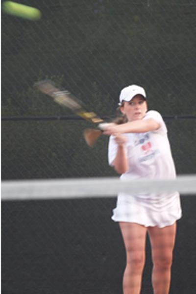 Tennis Undefeated in DFAL, Advances to NCS