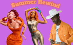 Doja Cat, Olivia Rodrigo, and Lil Nas X (from left to right), spent their summer at the top of the charts.