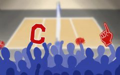 Spectators cheer at Campolindo sports game.