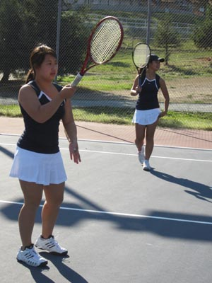 Tennis Girl's Varsity Success