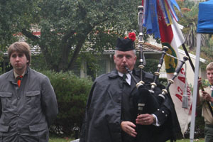 Knox Inspires Veterans' Ceremony at Commons