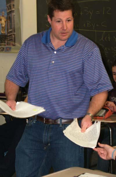 McAdam Back in Social Studies Department after Collins' Departure