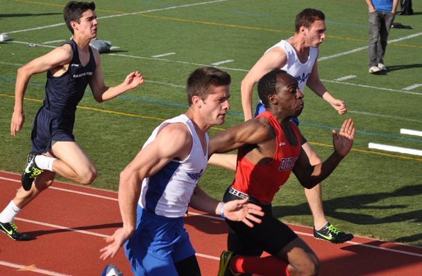 Acalanes Ties up Varsity Boys' Track