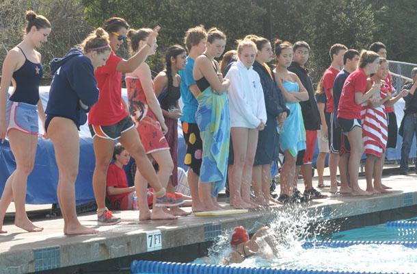 Swimmers+Dunk+Bulldogs+in+Season+Opener