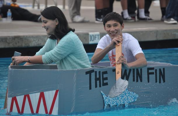 Sophs+Win+Inaugural+Paper+Boat+Races