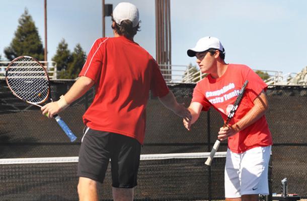 Doubles Place 3rd as Tennis Wraps
