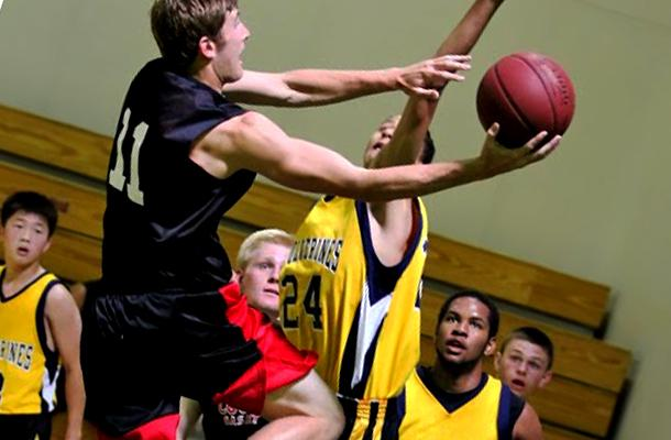 Basketball Star Collapses in Physics