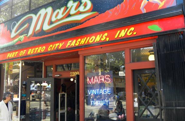 Mars Mercantile is a must in Berkeley.