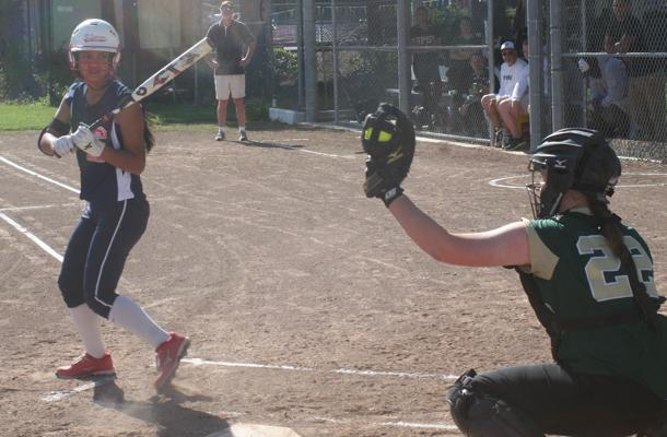 Softball Struggles with Pitcher's Debut
