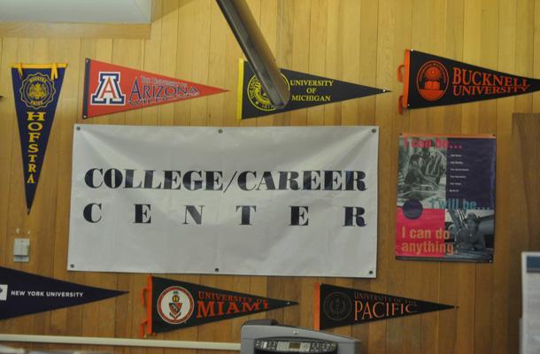 Carrel Leaves Career Center Post