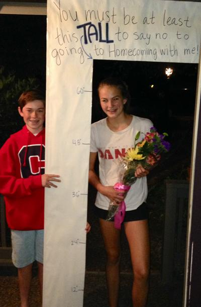Clever Homecoming Invites Tradition
