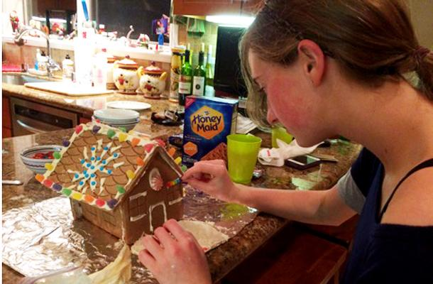 Gingerbread House Reveals Character