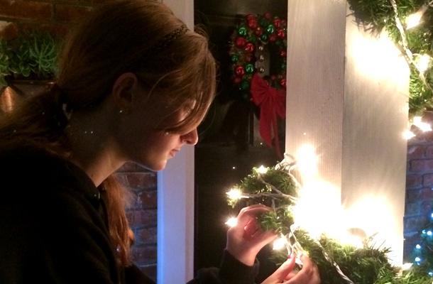 Holiday Decorations Comfort Neighborhood Youth