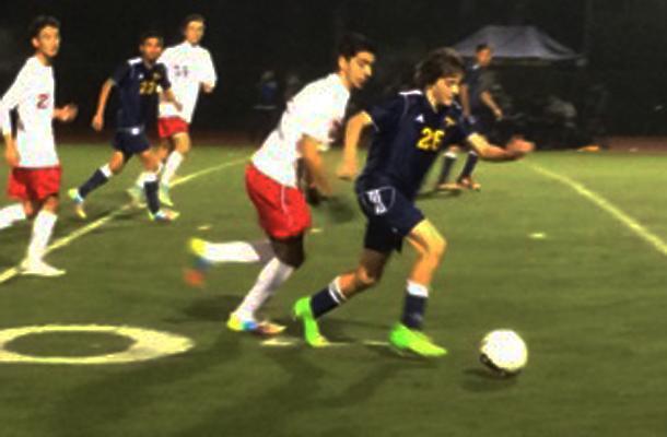 Boys' Soccer Blanks Bulldogs