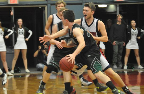 Basketball Holds off Rivals