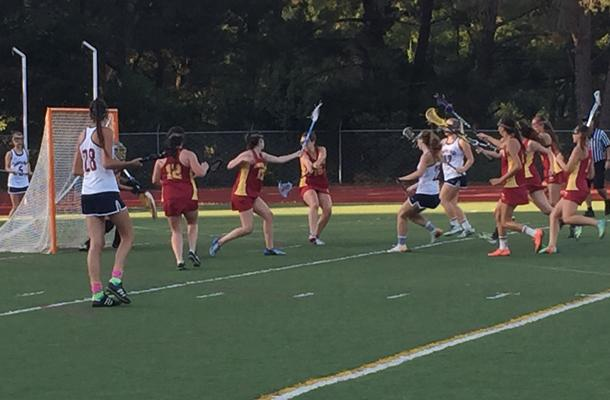 Girls LAX Earns 12th Win