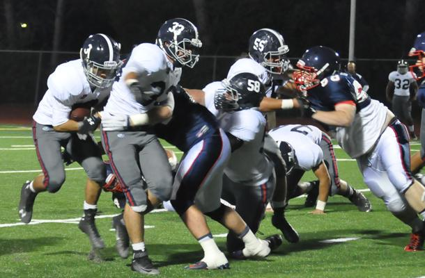 90-Yard Final Drive Helps Football Prevail