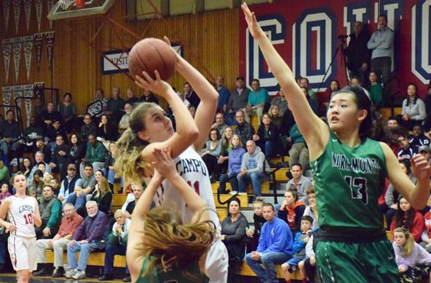 Mats Dominate Girls' Basketball