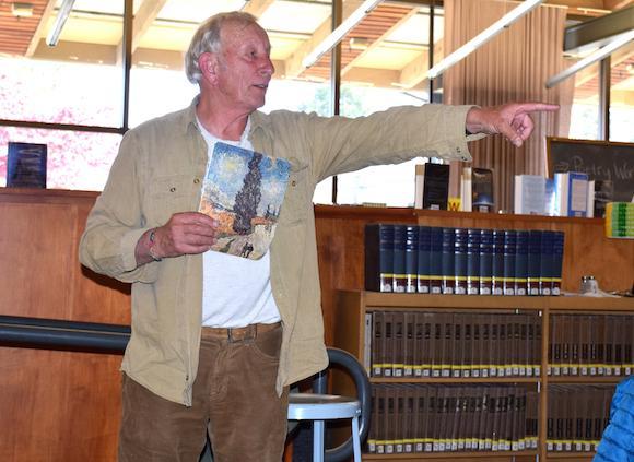 Poet Inspires Trust at Workshop