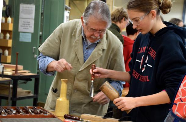 Wood Tech Legend Retires