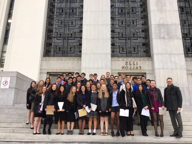 Courthouse Visit Reveals Adversarial Judicial System