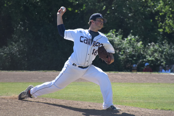 Falcons' Ace Blanks Baseball