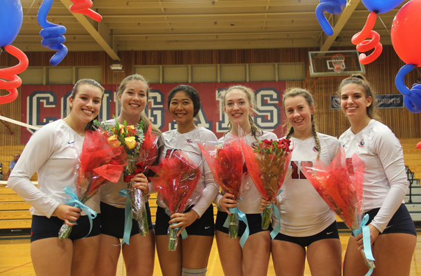Volleyball Seniors Play Unfamiliar Positions