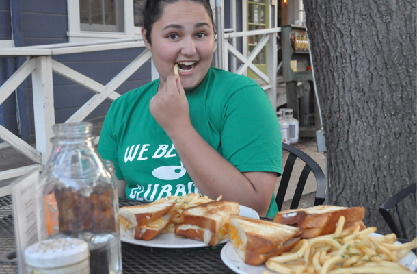 Grilled Cheese Girl Earns Following