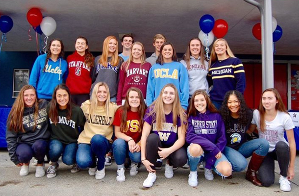 Top Athletes Sign College Commitments