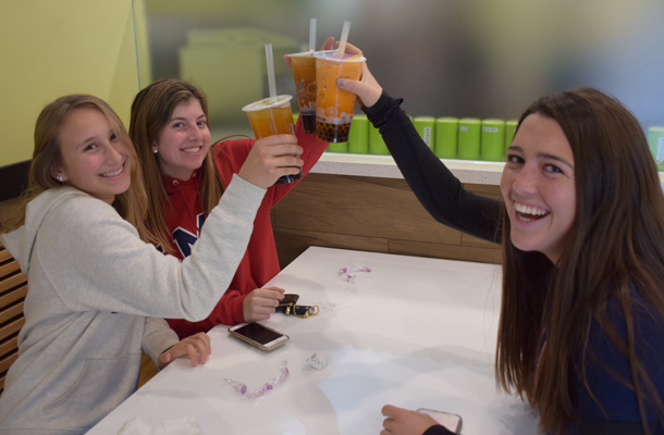 Teens Love New Asian Cafe