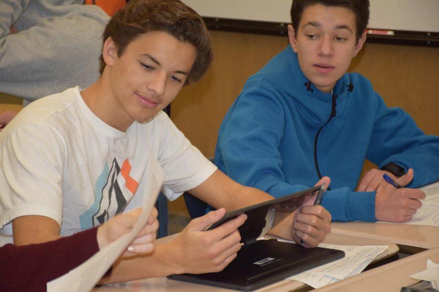 Sophomores Navigate Semester Switch