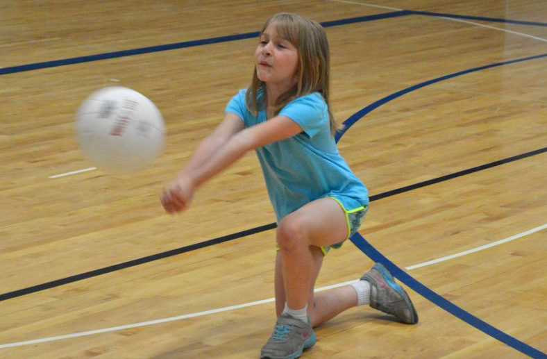 Youth Clinic Promotes Volleyball