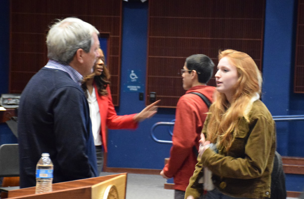 Congressman Encourages Student Action