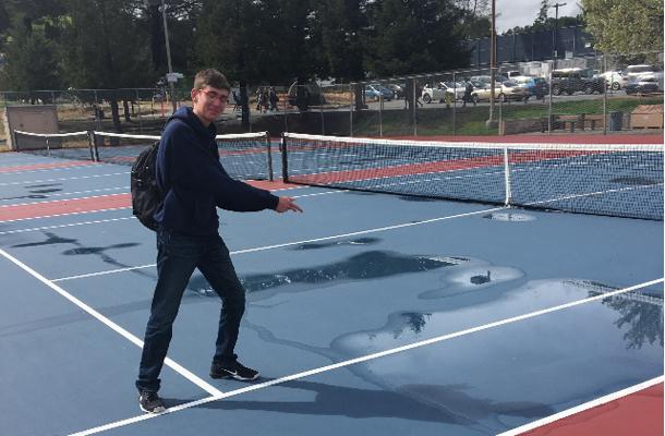 Rain, Injuries Hamper Boys Tennis