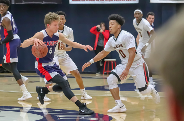 Boys Hoops Falls to Salesian in NCS Title Rematch