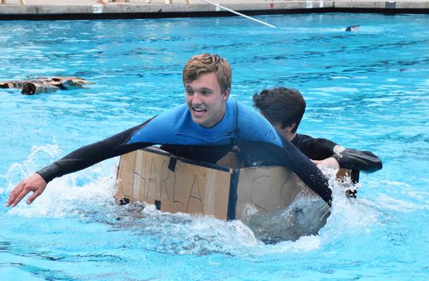 Sophs Win Paper-Boat Regatta