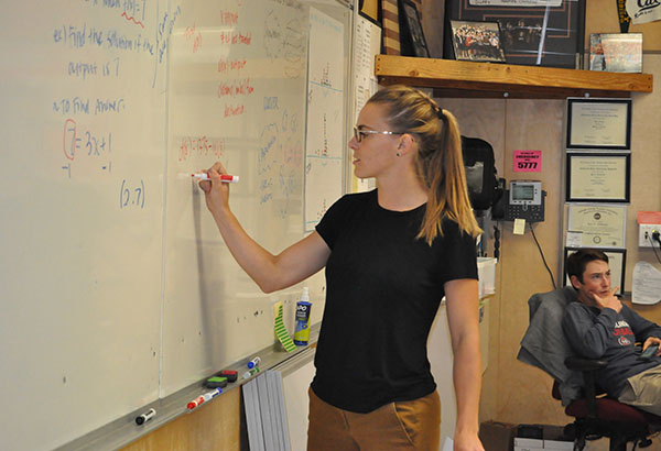 Math Vacancy Helps Cousins Connect