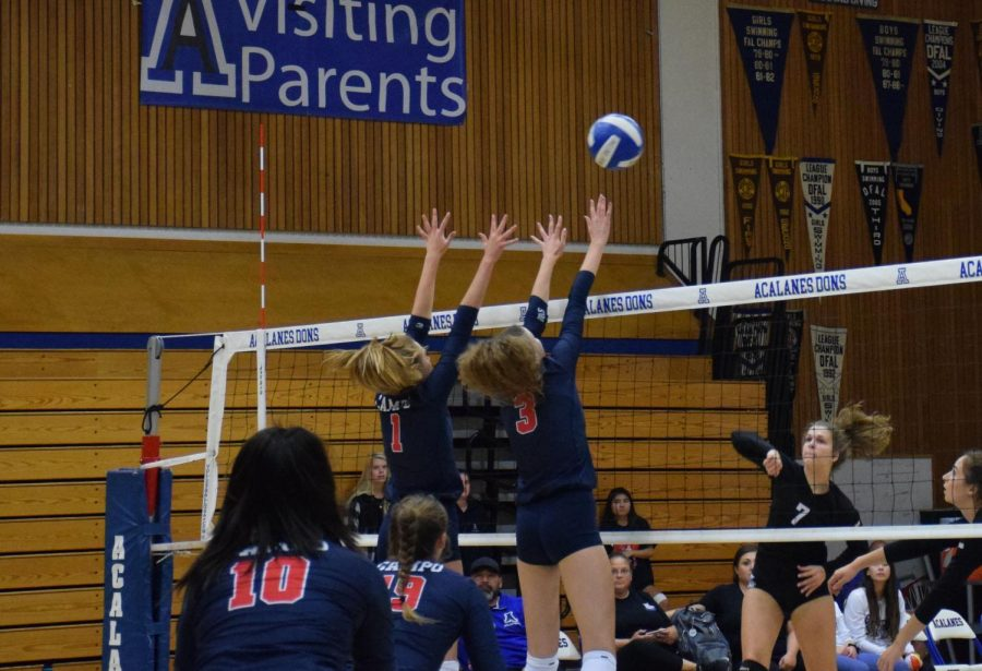 Volleyball Downs Dons after Slow Start