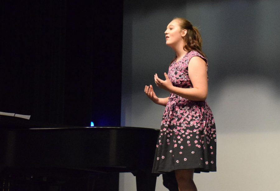 Choir Prepares for Challenging Spring Musical