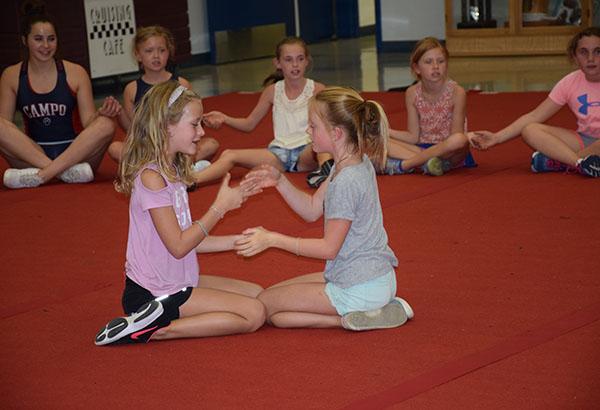 Cheer Camp Strengthens Bonds