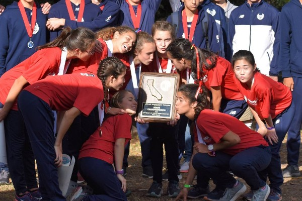 Girls' Cross Country Awarded NCS Crown