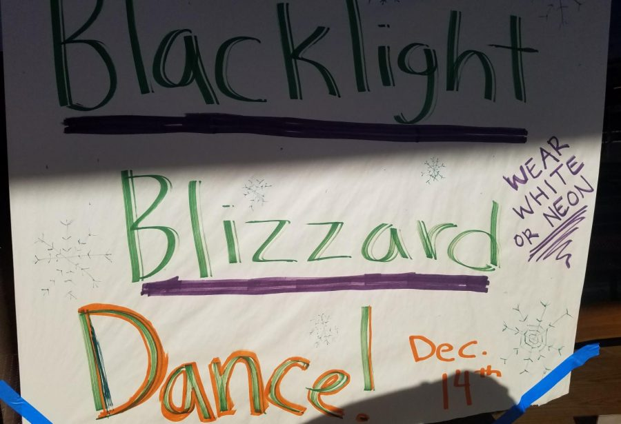 Blacklight Dance Supports Food Bank
