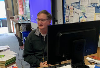 Substitute Brings Energy, Engagement in English