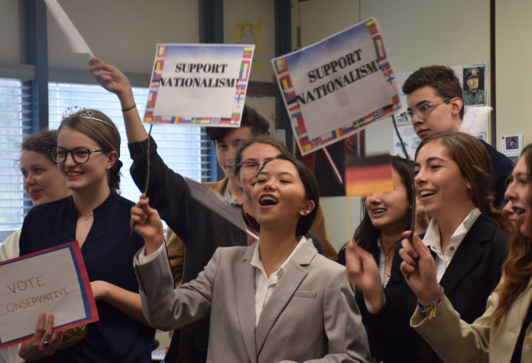 Political Groups Rally in AP Euro