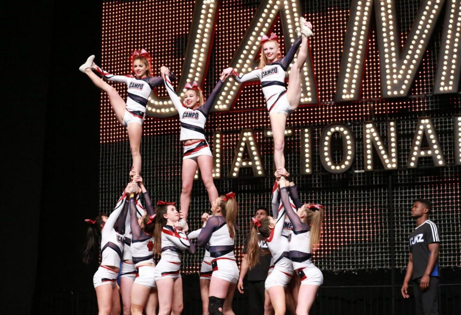 Cheer Squad Rises above Challenges at Nationals