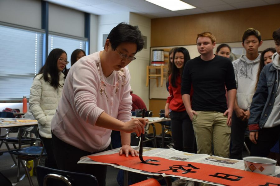 Calligraphy Artist Hosts Academy Session