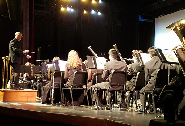 Michigan Musicians Join Band Performance