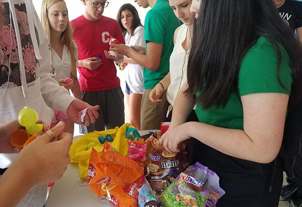 Campus Egg Hunt Celebrates Easter