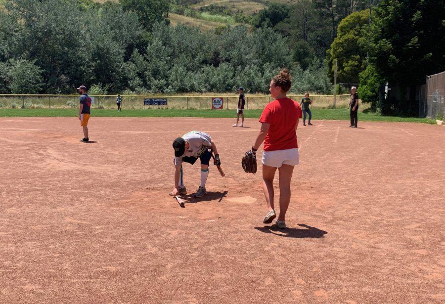 Softball Showdown Ends in Tie