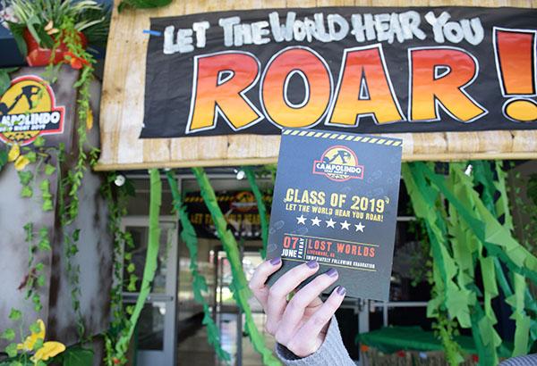Grad Night Dinosaur Theme Announced